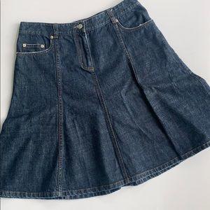Issac Mizrahi For Target Denim Tulip Skirt Sz 10
